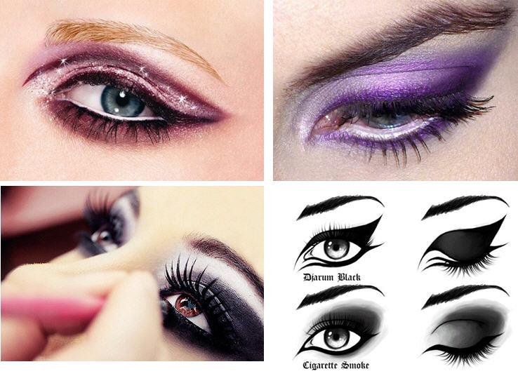 Cat Eye Makeup Olesjas Fashion Illustration