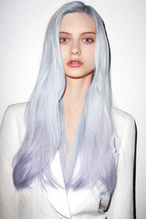 Hair Color Experiments Olesja S Fashion Illustration