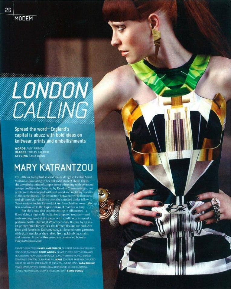 MK graphic print dress