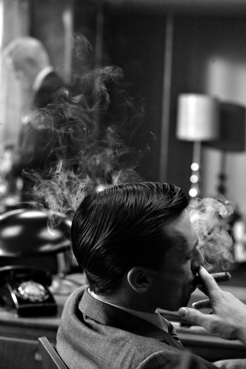 smoking don draper
