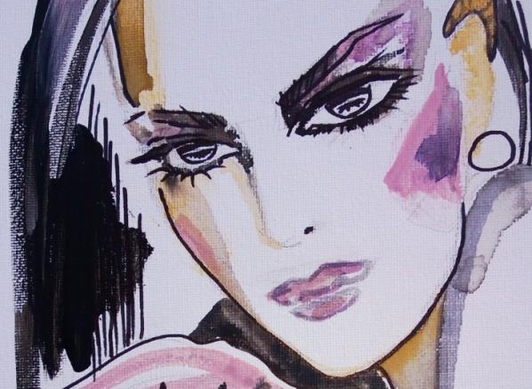 iris close-up