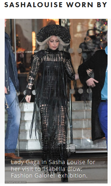 Sasha Louise worn by GaGa