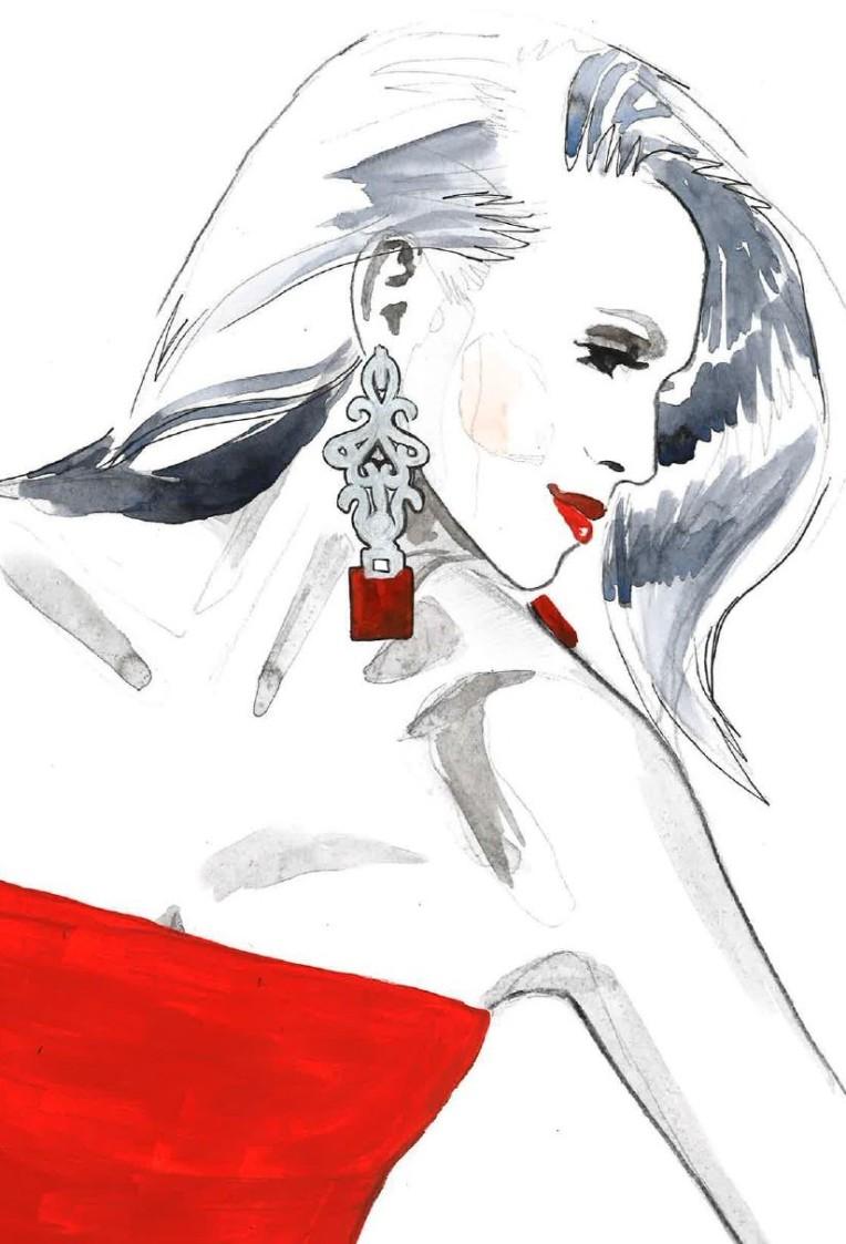 Red Janina close up 3