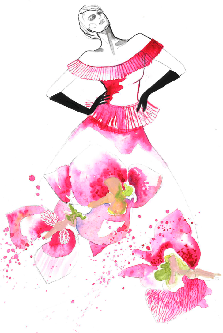 flower-dress-fuchsia-orchid-1